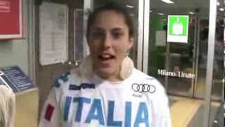 Slalomgigantiste rientrano in Italia | FISI Official | FISI Official