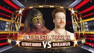 Fantasy Warfare - Sheamus vs The Ultimate Warrior : WWE All Stars
