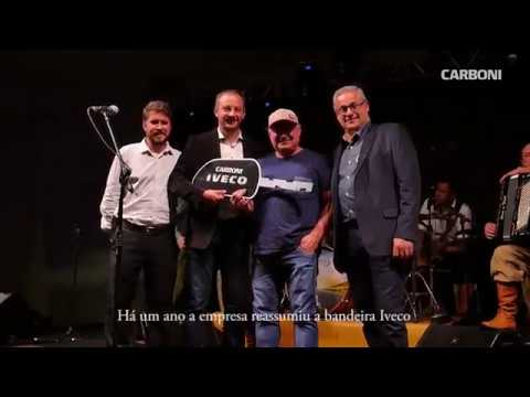 Carboni festeja aniversário das operações Iveco no Rio Grande do Sul