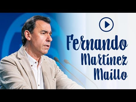 """Maíllo: """"Sánchez intenta asaltar el poder de la mano de los que ponen en peligro España"""""""