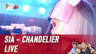 Sia   Chandelier   Live   C'Cauet Sur NRJ