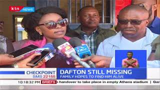 The search for Dafton Mwitiki continues as family keeps hopes alive