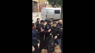 Драка с ментами в Дагестане  ЖЕСТЬ!
