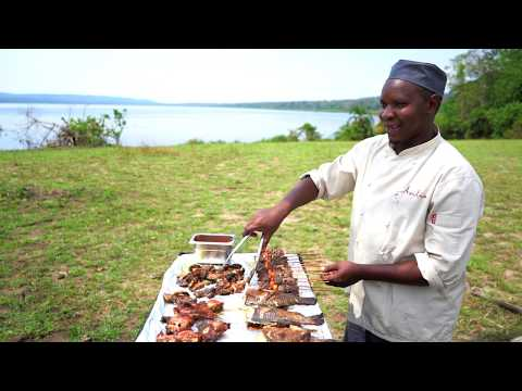 Rubondo Island Camp is the only lodge on Rubondo Island, the largest island national park in Africa. Tropical forests provide a protected habitat for wildlife that includes sitatunga, elephant, giraffe, 200 species of birds and wild chimpanzees. The deep waters of Lake Victoria also offer spectacular fishing for record-breaking Nile perch.