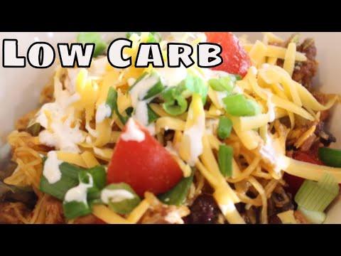 Low Carb Spaghetti Squash Enchilada Bowl With Linda's Pantry