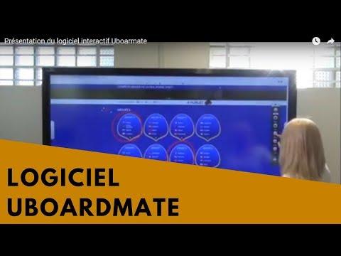 Utilisation du logiciel UboardMate sur Windows