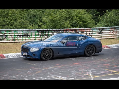 2018 Bentley Continental GT spotted at Nurburgring with new W12