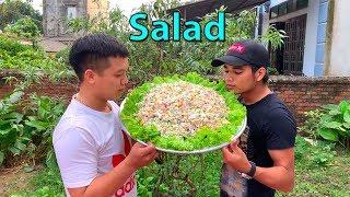 Hữu Bộ   Làm Mâm Salad Khổng Lồ