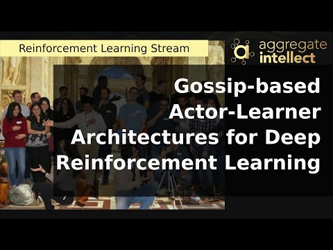 Gossip-based Actor-Learner Architectures for Deep Reinforcement Learning