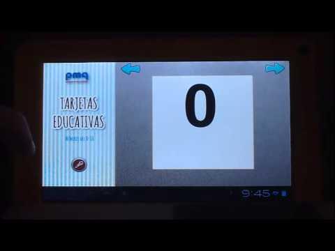Video of Tarjetas educativas en español