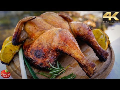 Primitive Cooking in 4K – EPIC Grilled Whole Chicken