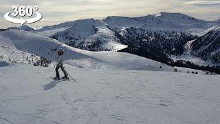 Austrian Alps, Skiing, VR 360 video