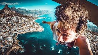 220 METRE YÜKSEKLİKTEN ATLADIM! | Afrika Bungee Jumping