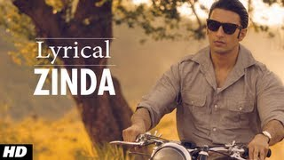 Zinda Full Song With lyrics - Lootera