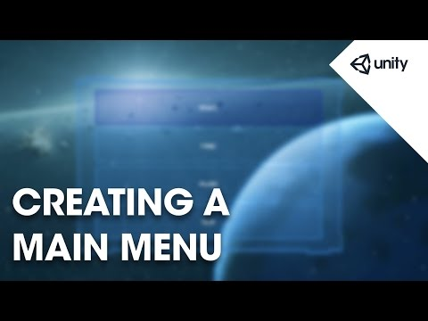 Creating A Main Menu - Unity