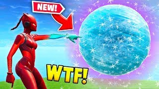 *NEW* TOUCHING THE ICE SPHERE! (Fortnite FAILS & Epic Moments #33)
