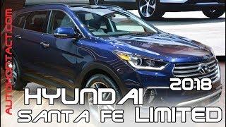 2018 Hyundai Santa Fe салон 7 мест, Limited. Новый Санта Фе V6, 3.6 л., 290 л.с.