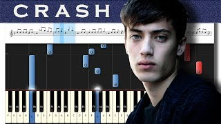 EDEN   Crash   Piano Tutorial + MIDI
