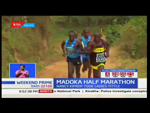 Isaac Kipkoech and Nancy Cherop to be crowned new champions of Safaricom Madoka half Marathon
