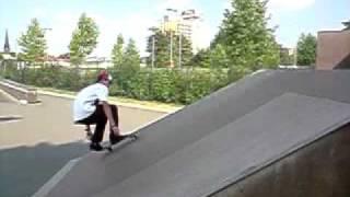 Alex Rusche   Kickflip   [ High Speed  Slow Motion ]