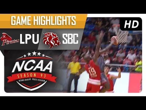 LPU vs. SBC | NCAA 93 | MB Game Highlights | July 14, 2017