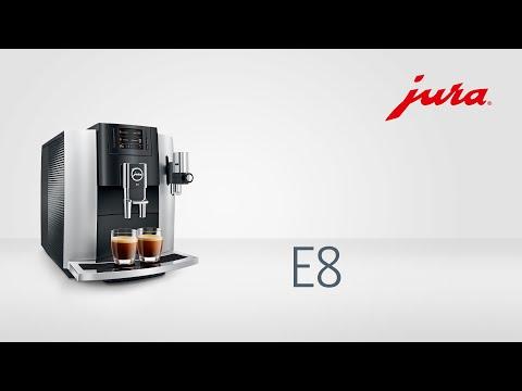 Кофемашина JURA E8 Touch (платиновый)