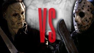 Jason Vorhees VS Michael Myers Rap Battle EPIC! | Friday the 13th VS Halloween | Daddyphatsnaps
