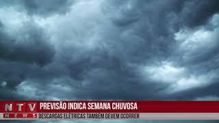 Patos Já - A previsão do tempo indica semana com volume maior de chuva na região, acompanhada de raios e até ventania. A temperatura não deve ter alteração.