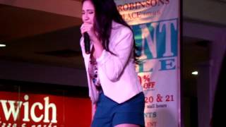 Julie Anne San Jose at Robinsons Imus (JapsAlbumTour) 1