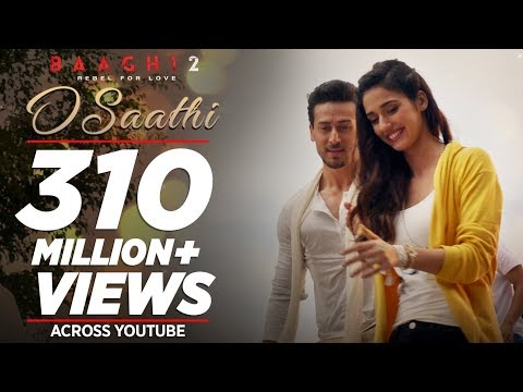 O Saathi Video Song | Baaghi 2 | Tiger Shroff | Disha Patani | Arko | Ahmed Khan | Sajid Nadiadwala