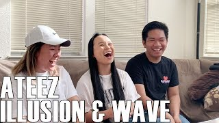 ATEEZ (에이티즈)  Illusion & Wave (Reaction Video)