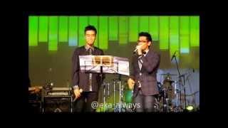 AFGAN & Vidi Aldiano - Yogyakarta (@GPH, Yogyakarta 14/04/2012)