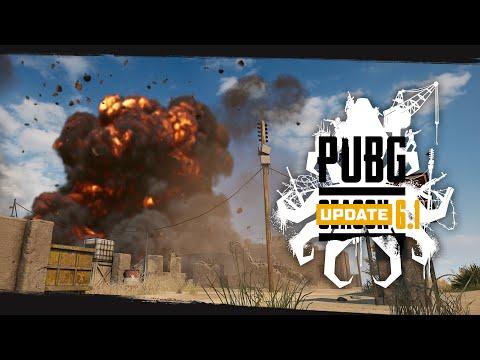 PUBG - Patch Report - Update 6.1