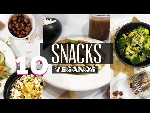 10 Snacks Fáciles y Veganos