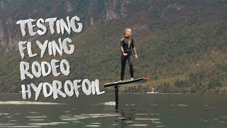 Flying Rodeo eFoil preview - Electric Hydrofoil surfboard