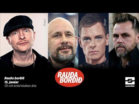 Rauða borðið: Föstudagsþátturinn 15. jan