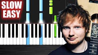 Ed Sheeran - Photograph - SLOW EASY Piano Tutorial by PlutaX