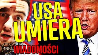 Trump PRZERAŻONY! Masowe ZWOLNIENIA w USA | WIADOMOŚCI