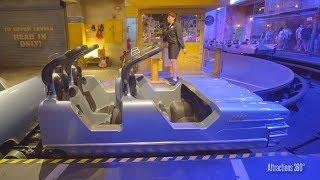 [4k] Rock n Roller Coaster Dark Indoor Coaster - Disney