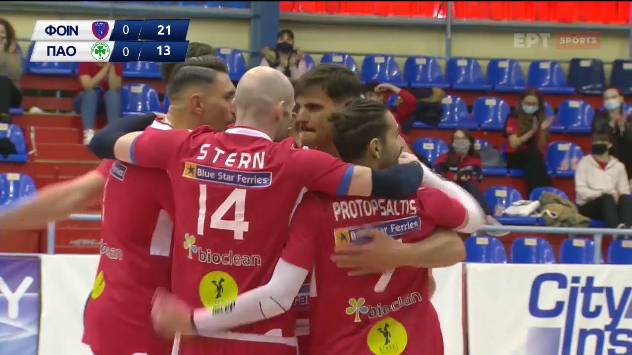 Volley League | Φοίνικας Σύρου – Παναθηναϊκός | HIGHLIGHTS | 08/04/2021 | ΕΡΤ