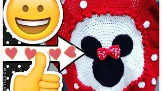 DISNEY Crochet Minnie Mouse Blanket | Tejiendo Con Erica