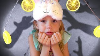 Nastya and the bedtime story for kids