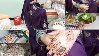 سارة الشاوية:اجواء العيد عند الشاوية واللباس التقليدي الملحفة وغناء شاوي بالبندير