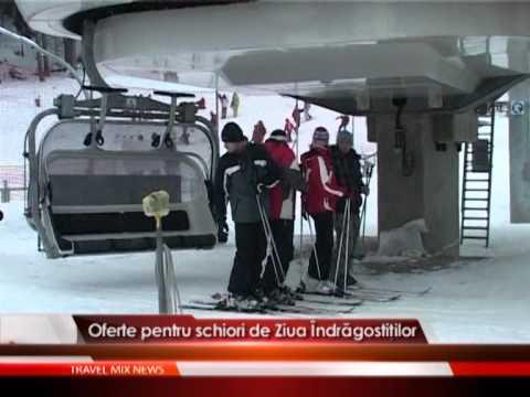 Oferte pentru schiori de Ziua Indragostitilor