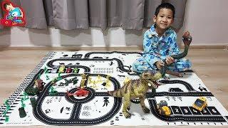 น้องบีม | งูยักษ์กาญจนบุรีและเมืองไดโนเสาร์ Dinosaur Toys