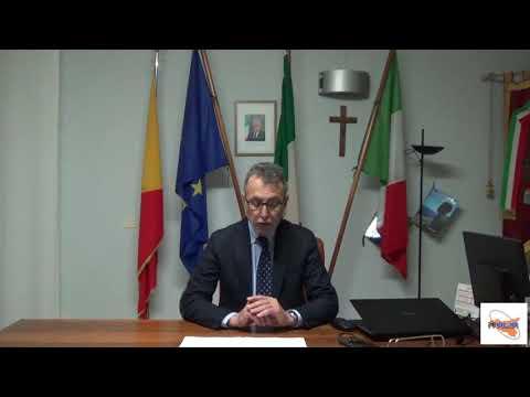 Messaggio di auguri del sindaco di Alia, Felice Guglielmo