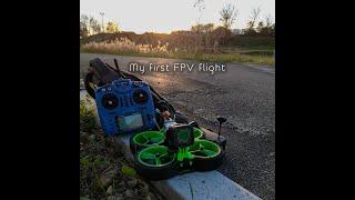My first FPV flight (Iflight Green Hornet)