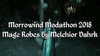 Morrowind Modathon 2018 - Mage Robes