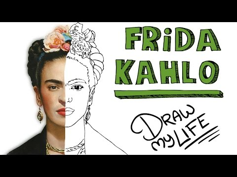 Video: La Biografía 'Dibujada' De Frida Kahlo