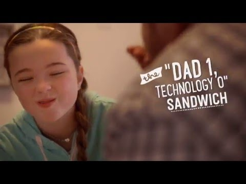 Dad 1, Technology 0 Sandwich - Keep on Sandwiching